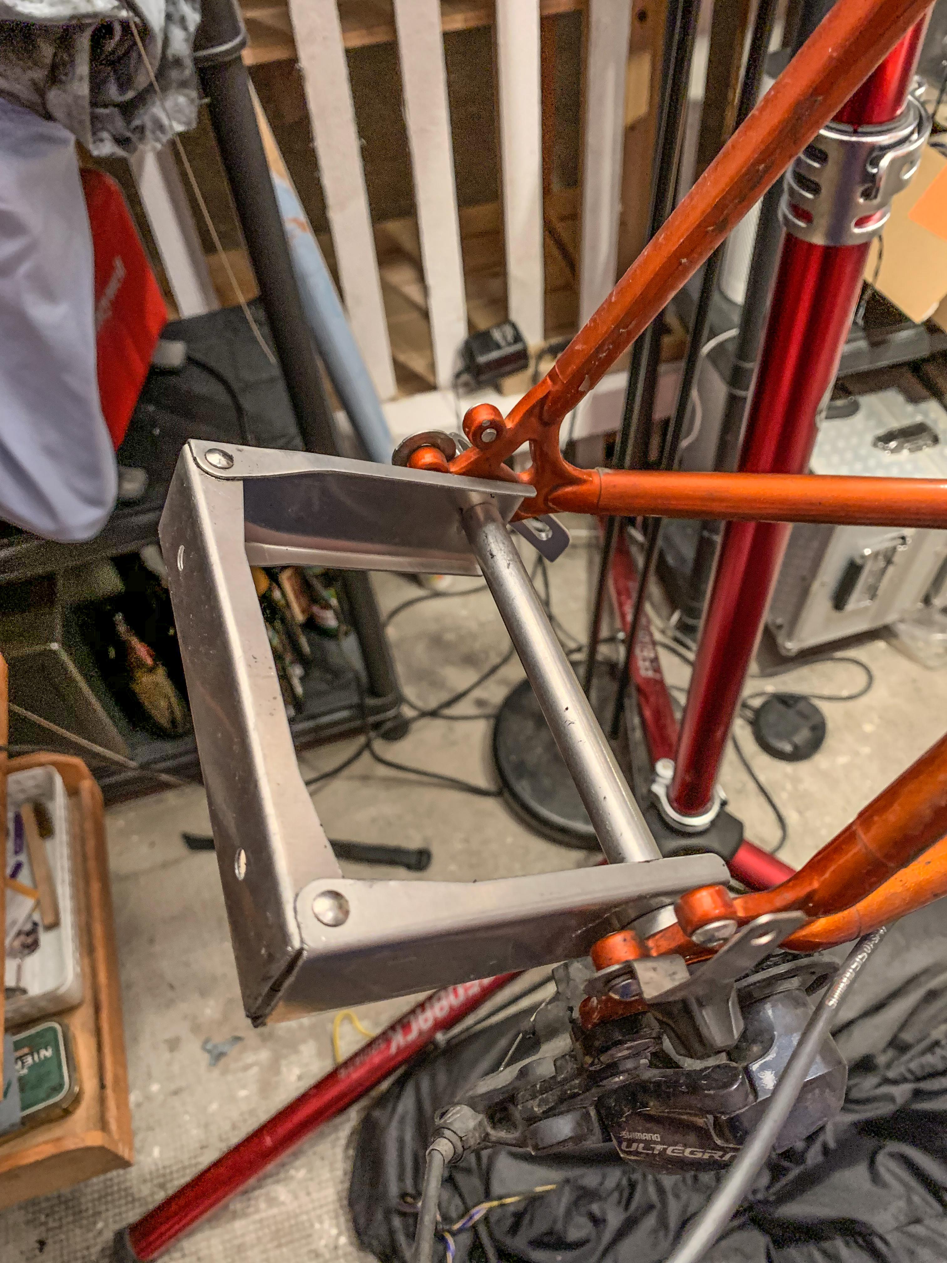 OSTRICH JAPAN-RINKO End bracket for Road bike